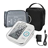ALOFOX Blood Pressure Monitor Accurate Automatically Measure Pulse Diastolic Systolic Upper Arm Bp Machine for Home Use 2 User Mode with Large Cuff and 2x120 Sets Memory FDA Approved