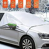 MATCC Copertura Parabrezza Auto Protezione Parabrezza Anti UV Antighiaccio e Antigelo per Parabrezza Telo di Copertura per Parabrezza Auto Adatto per la Maggior Parte dei Veicoli SUV 245 * 196 CM