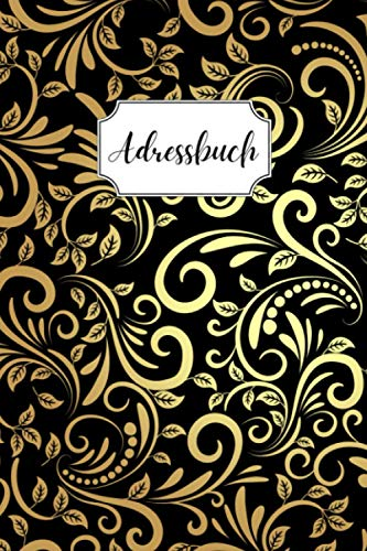 Adressbuch: Telefonbuch mit Inhaltsverzeichnis, A bis Z | A5 Format, praktisches Heft | Original | 728 Kontakte
