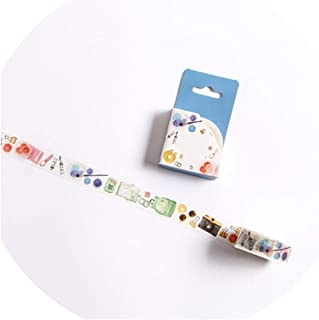 15/30mm Zoo Fruit Paper Decorative Masking Tapeese Stationery Crafts and Scrapbooking Cute Tape,F