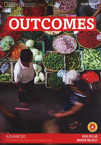 Outcomes - Second Edition - C1.1/C1.2: Advanced: Student's Book and Workbook (Combo Split Edition A) + Audio-CD + DVD-ROM - Unit 1-8