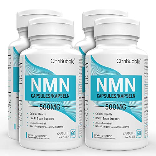 NMN Supplements with Maximum Strength | 500mg Per Capsule | Powerful Boost NAD+ Levels for Supports Anti-Aging & Mental Performance | NAD Supplement | 240 Capsules Nicotinamide Mononucleotide