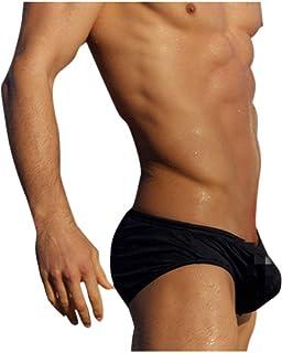 comprare a buon mercato nuove immagini di come acquistare Amazon.it: costume bagno uomo push up - Uomo: Abbigliamento