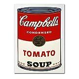 LaMAGLIERIA Andy Warhol - Campbell's Soup - Afiche Papel fotografico lùcido -...