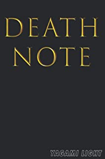 "Death Note Notebook: 6"" x 9"" Notebook for writing down daily habits, dairy, journal ( Be strong enough to apply the justic..."