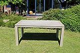 Destiny Gartenisch Messina Grey Wash 160 x 90 Akazie Esstisch Tisch Grau Washed
