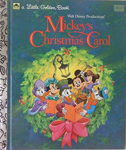 Walt Disney Productions' Mickey's Christmas carol (A Little golden book)