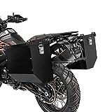 Juego de Maletas Laterales Aluminio para Suzuki V-Strom 650 / XT AT36 Negro