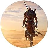 Fondant Tortenaufleger Tortenbild Geburtstag Assassin's Creed Origins T1