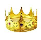 Tytroy Royal King Gold Jeweled Plastic Dress Up...
