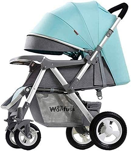 WYHM Portable Stroller, Baby Strollers - Pushchair Lightweight for Holiday - Folding - Two Way Compact Travel Baby Buggies/Prams - Raincover/Windproof Warm Foot Cover/Five-Point Harness (Color : C)