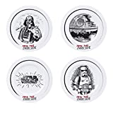 ABYstyle - Star Wars - Set de 4 Platos de Postre - Join the Dark Side