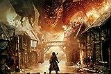 Adultos Rompecabezas De 1000 Piezas El Hobbit: Póster De Película Juguete Educativo Intelectual De...