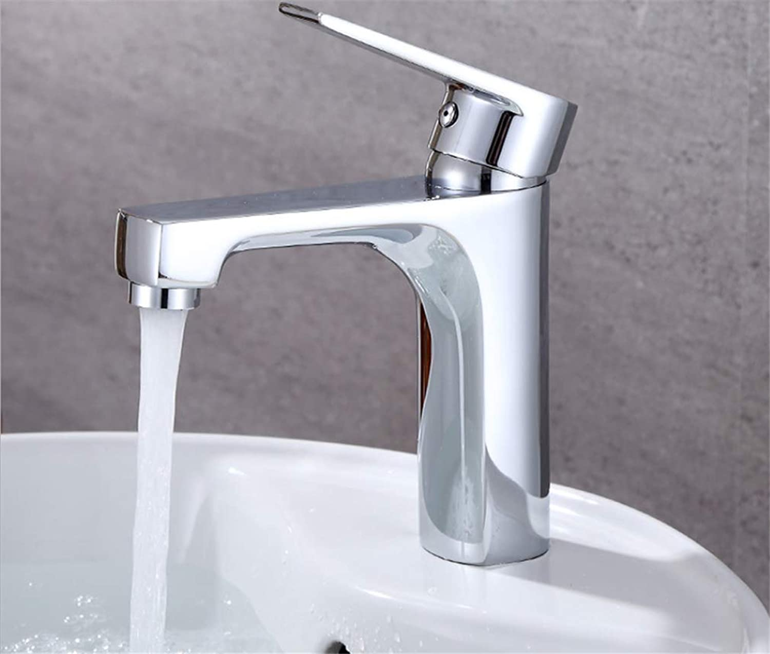 Basin Faucetcopper Bathtub Washbasin Hot and Cold Water Mixing Faucet Washbasin Basin Style Style Faucet