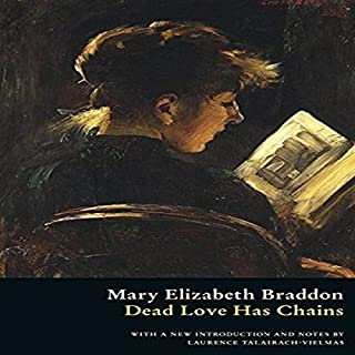 Dead Love Has Chains audiobook cover art