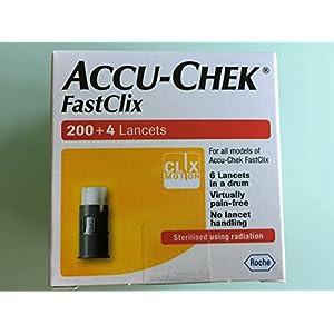 buy Accu Check Fastclix 200+4 Lancets Diabetes Care