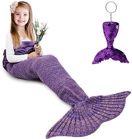 Top 10 Best crocheted mermaid tail blanket Reviews
