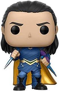 MEI XU Model - Funko 13767-PX-1U4 Marvel Heroes Pop Bobble Thor Ragnarok: Loki Game Model (Color : A)