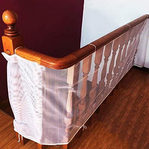 cococity Baby Absturzsicherung Netz Kinder Sicherheitsnetz Langlebig Treppennetz 3 Meter Balkonnetz für Baby/Kleinkind/Haustier/Spielzeug (200cm*75cm)