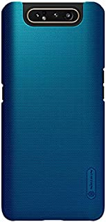 BRAND SET Case for Samsung Galaxy A90 5G Case/A90 Case, Bump frosted hard shell PC ultra-thin silky all-inclusive mobile phone shell anti-skid anti-fingerprint for Samsung Galaxy A90 5G-Blue