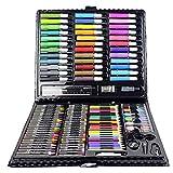 150 piezas/set Kids Art Set Regalo Dibujo Dibujo Kit Pintura Cepillo Arte Marcador Color de Color Pluma Crayon Niños Regalo Artículos de arte Artículos de arte Papelería (Color : 150pcs)
