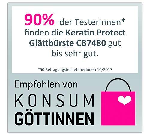 Glättungsbürste: emington CB7480 Glättbürste Keratin Protect