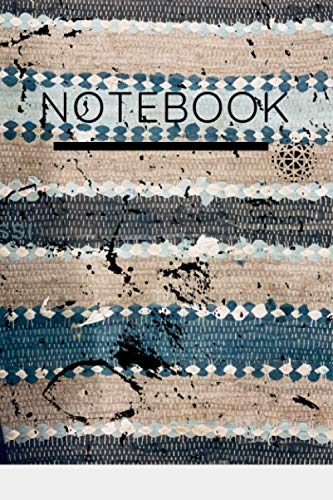 6.9x9 rugged/ distressed composition notebook