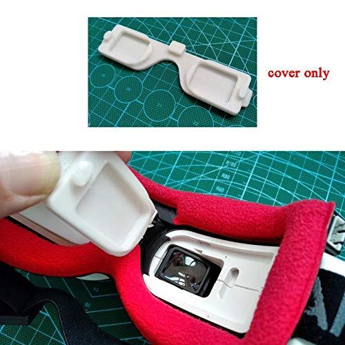 CHENJUAN For Fatshark HD2 HD3 HDO Gafas Protector de la Lente FPV Cubiertas de Vidrio Gafas Video de la Capilla de la Carcasa Sombra Anti-Cero a Prueba de Polvo de Piezas Piezas de Repuesto