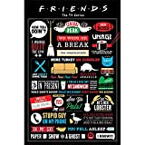 Friends (Infographic Poster, sin laminar