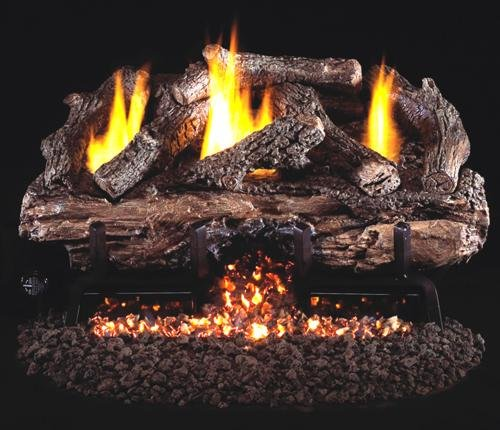 Lowest Prices! R.H. Peterson CHASG10-30 - 30 Ventless Charred Aged Split Vent Free Gas Logs with ...