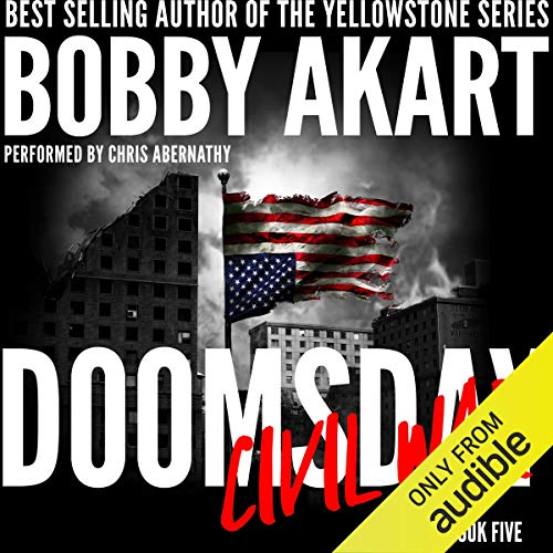 Doomsday Civil War audiobook cover art