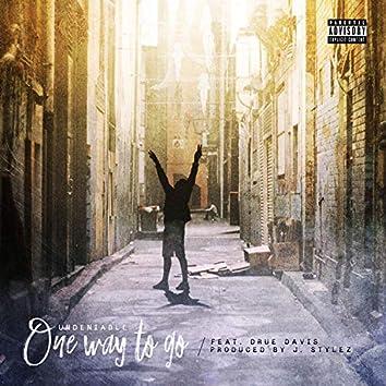 One Way to Go (feat. Drue Davis)
