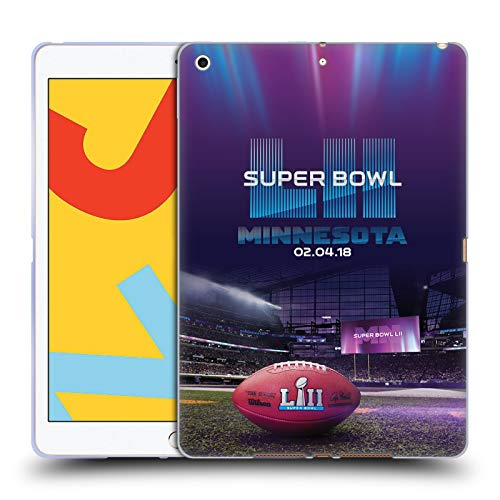 Head Case Designs Officially Licensed NFL U.S. Bank Stadium 2 2018 Super Bowl Lii Soft Gel Case Compatible With Apple iPad 10.2 (2019)/(2020)