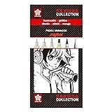 Sakura - Set Completo De Cinco Rotuladores Negros Pigma Diferentes Versiones Y Un Portaminas Multicolor