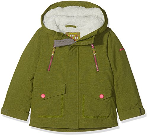 Ziener Kinder ABUDO Jacket ski Skijacke, warm Olive Rib, 152