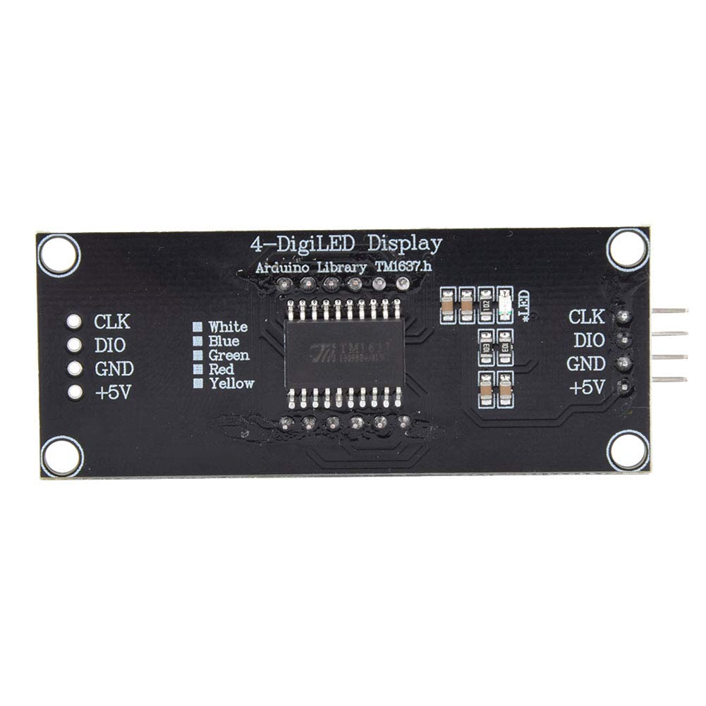 LED Display 4 Mounting Holes Use Library Miami Mall Arduino for Multicolor Seasonal Wrap Introduction