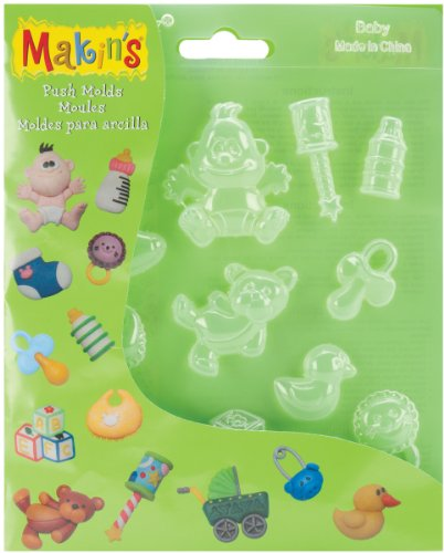 Makin's clay Makin's Brand Moule à Argile bébé