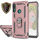 YmhxcY Huawei p smart Z Case with Tempered Glass Screen
