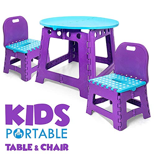 Vidasway Kids Table and Chair Set