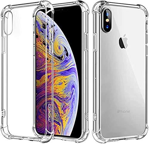 Kit 3x Capinhas Cases Apple iPhone XS Tela 5.8 Polegadas, Transparente, TPU, 100% Flexível