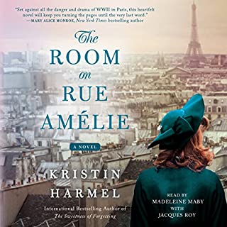 The Room on Rue Amélie                   Written by:                                                                                                                                 Kristin Harmel                               Narrated by:                                                                                                                                 Madeleine Maby,                                                                                        Jacques Roy                      Length: 10 hrs and 7 mins     24 ratings     Overall 4.4