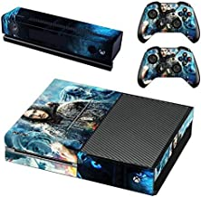 AMALA NAIDU Protective Vinyl Skin Decal Cover for Xbox One Console Wrap Sticker Skins with Two Free Wireless Controller Decals film