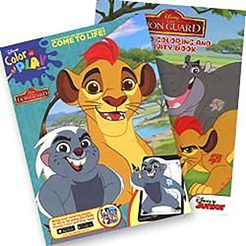 4SGM Lion Guard Jumbo Coloring & Activity Book - Set of 2