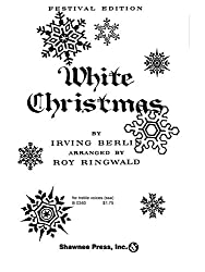 Irving Berlin: White Christmas (SSA). Partitions pour SSA, Accompagnement Piano