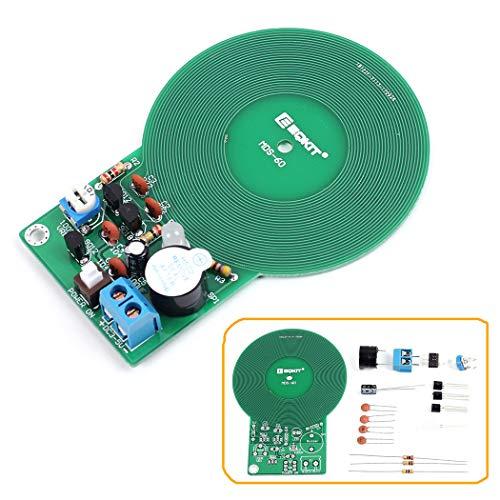 IS ICstation DIY Electronic Soldering Practice Kit, Assemble Simple Metal Detector, Metal Sensor with Buzzer for Welding Beginners