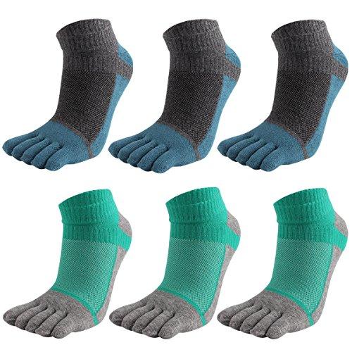Calcetines de deporte con dedos