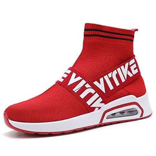Unisex Scarpe da Ginnastica Corsa Sportive Running Sneakers Fitness Interior Casual all'Aperto Calze Scarpe(30-41)