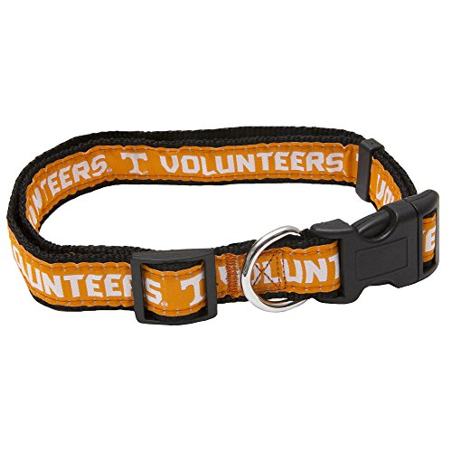 Pets First Collegiate Pet Accessories, Dog Collar, Tennessee Volunteers, Large