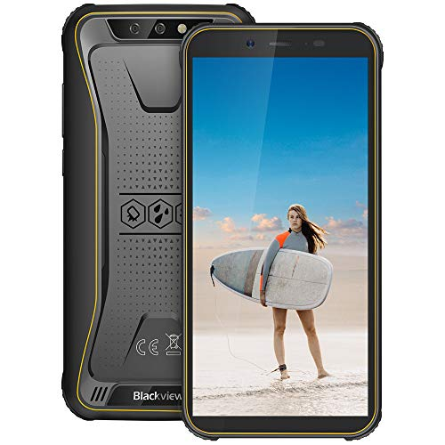 Blackview BV5500 Pro Rugged Movil, Android 9.0 Pie, Dual SIM 4G, 5.5 Pulgadas...