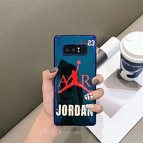 Luxury Blu-ray Flyman AIR Jordan 23 Case for Samsung Galaxy (for Note 8)